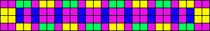 Alpha Friendship Bracelet Pattern #733