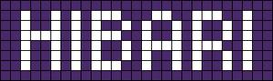 Alpha Friendship Bracelet Pattern #735