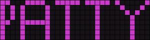 Alpha Friendship Bracelet Pattern #738