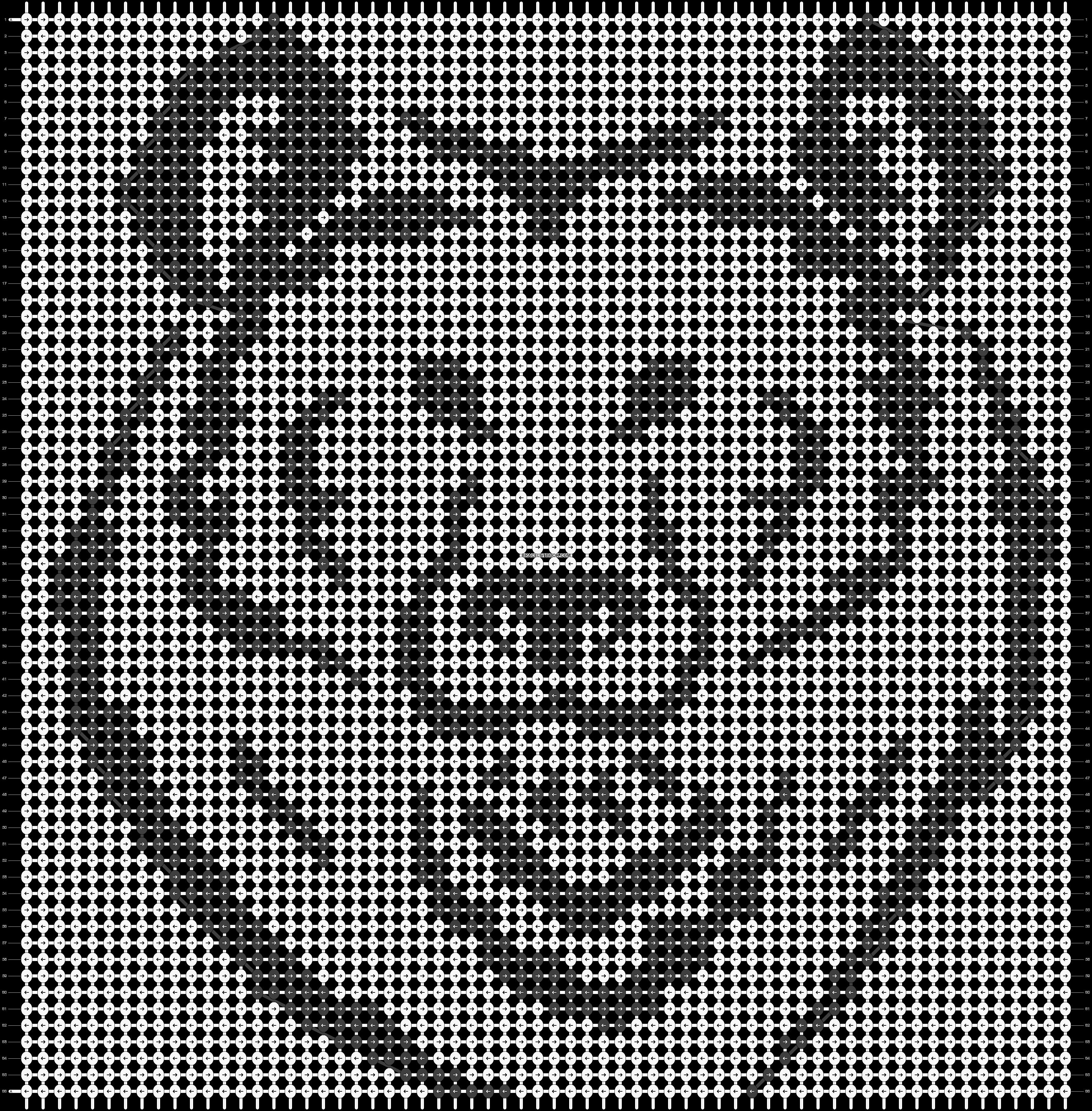 Alpha pattern #743 pattern