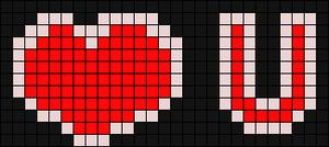Alpha Friendship Bracelet Pattern #744