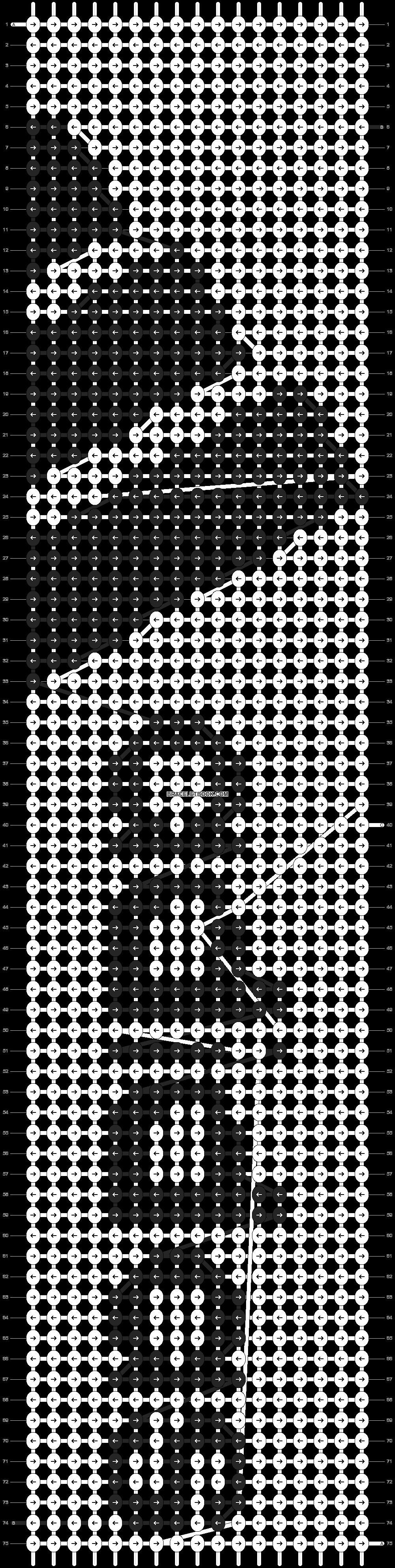 Alpha pattern #745 pattern