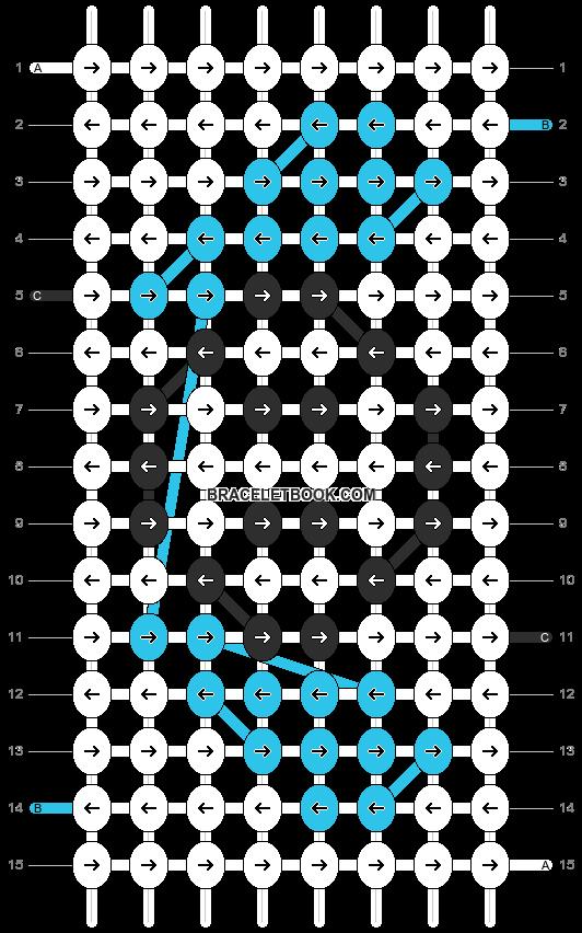 Alpha pattern #752 pattern