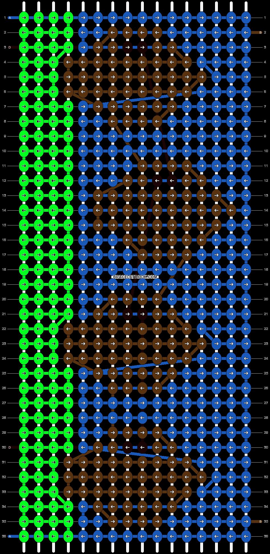 Alpha pattern #792 pattern