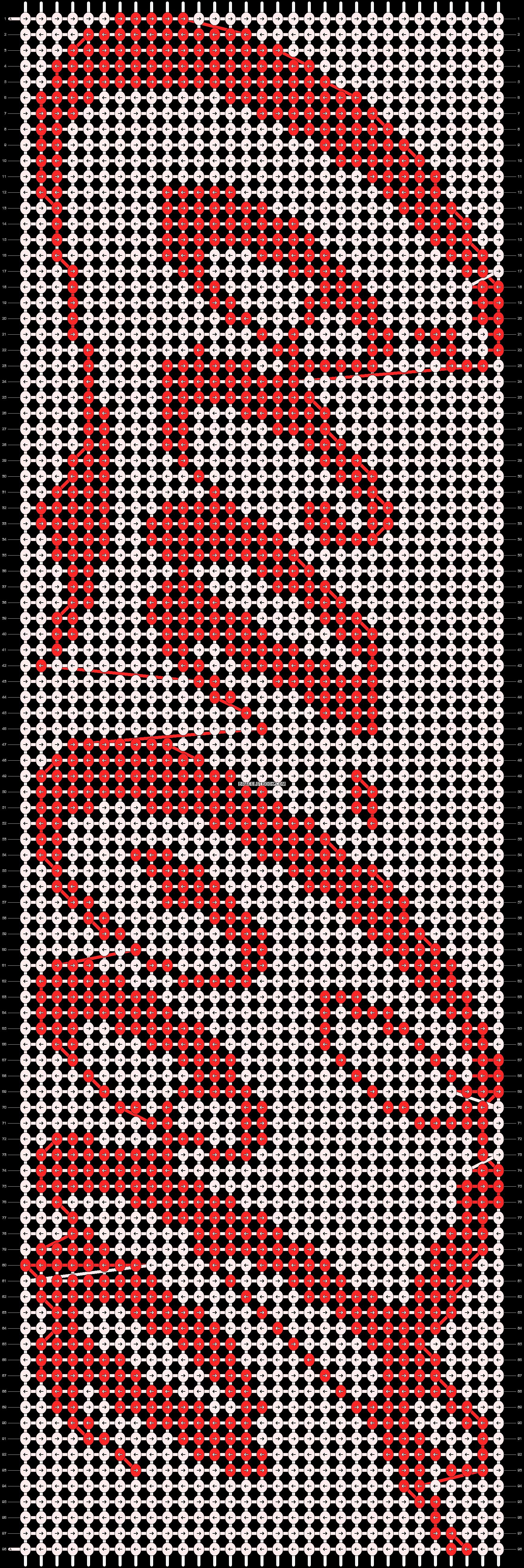 Alpha pattern #794 pattern