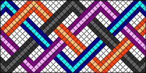 Normal Friendship Bracelet Pattern #799