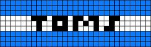 Alpha pattern #815