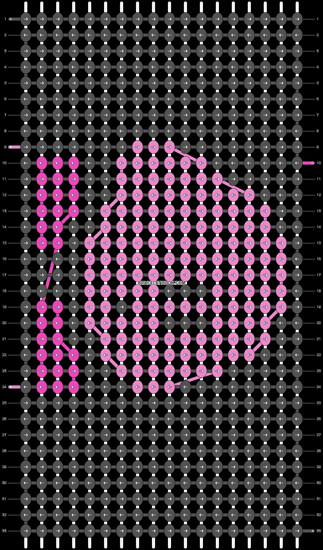 Alpha pattern #817 pattern