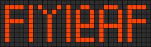 Alpha pattern #828