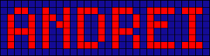 Alpha pattern #834