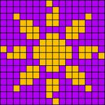 Alpha Friendship Bracelet Pattern #835