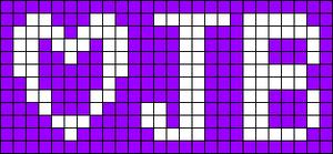 Alpha pattern #847