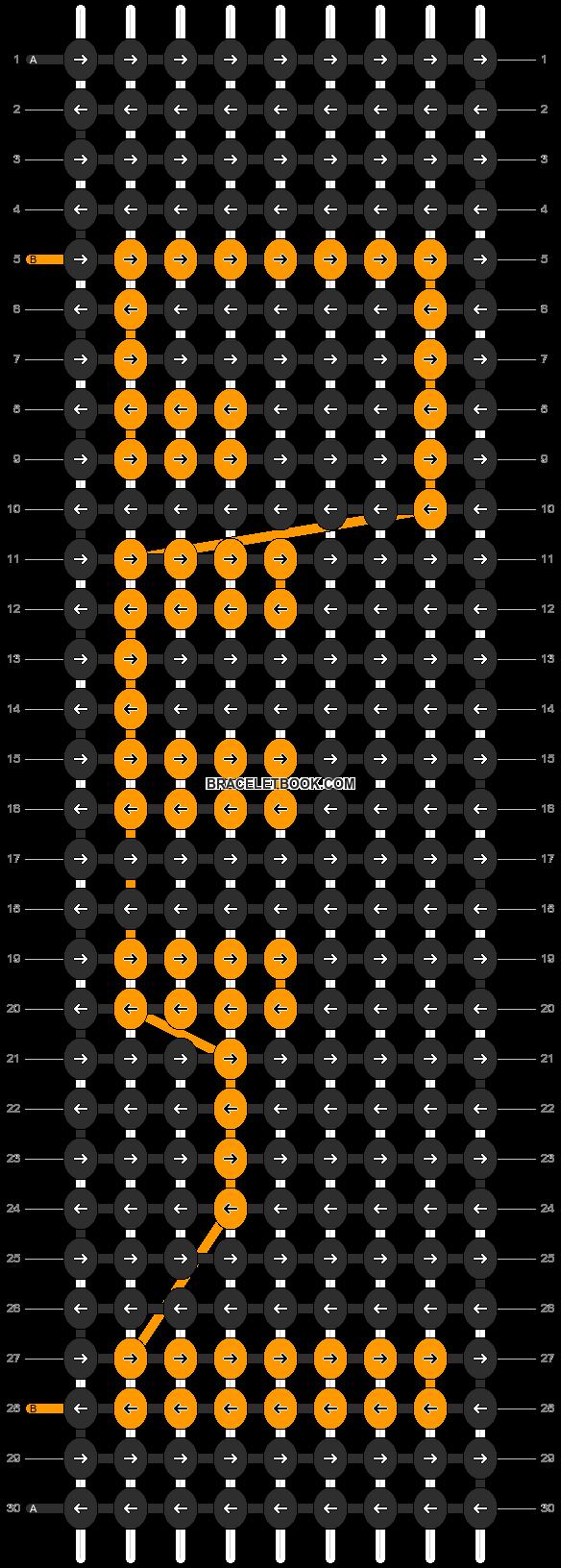 Alpha pattern #856 pattern