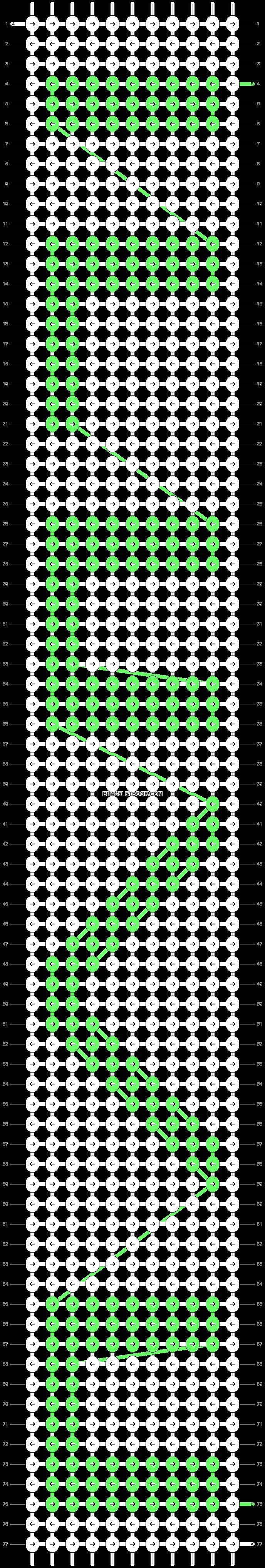 Alpha pattern #858 pattern