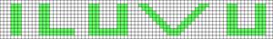 Alpha pattern #858