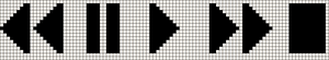 Alpha pattern #869