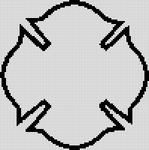 Alpha Friendship Bracelet Pattern #884
