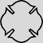Alpha pattern #884