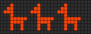 Alpha Friendship Bracelet Pattern #887