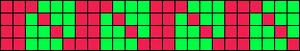 Alpha Friendship Bracelet Pattern #889