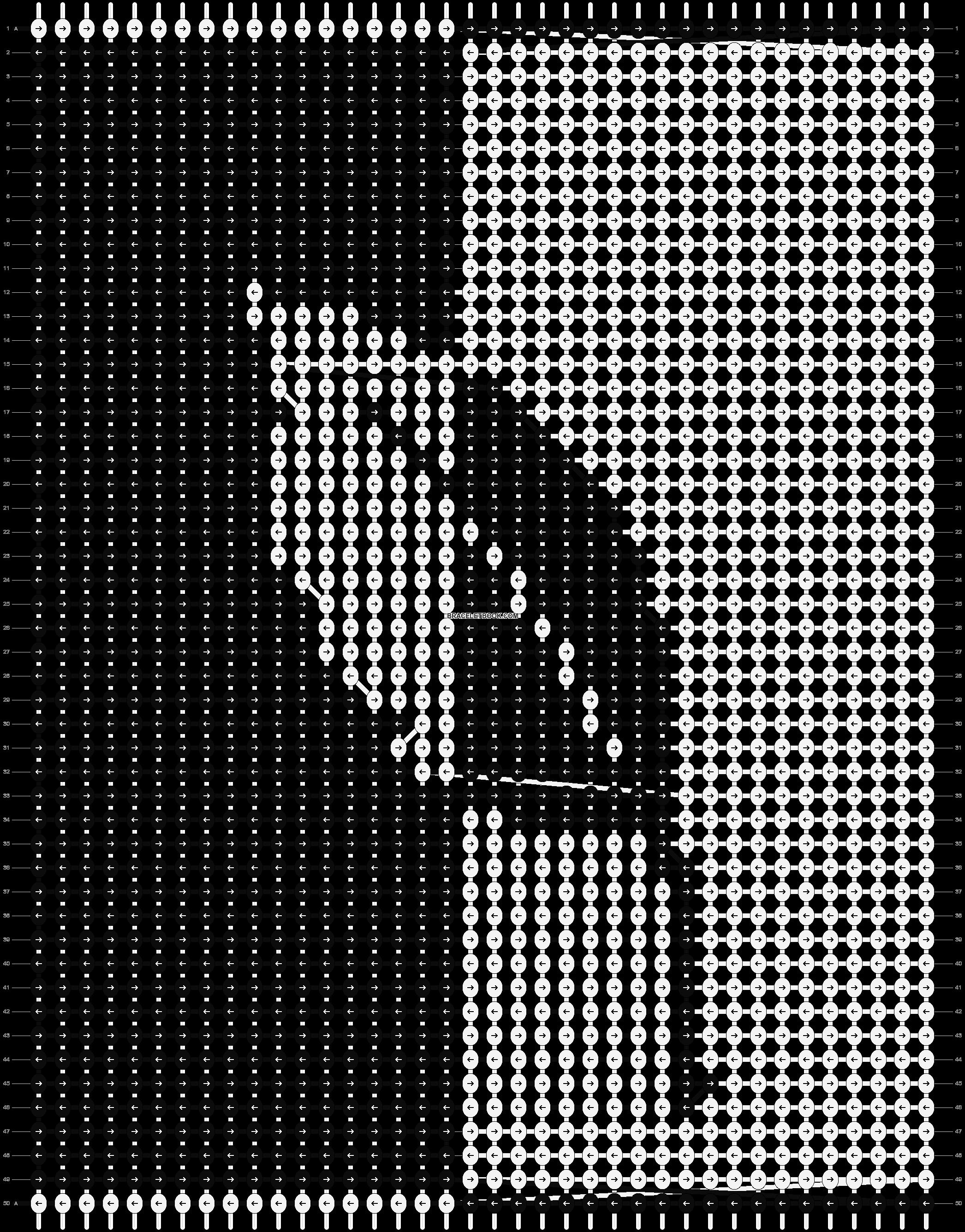 Alpha pattern #891 pattern