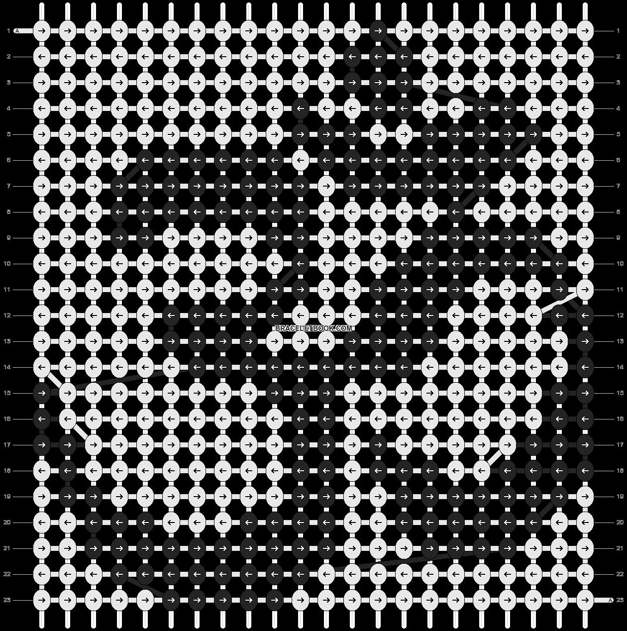 Alpha pattern #893 pattern