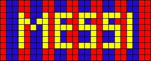 Alpha pattern #909