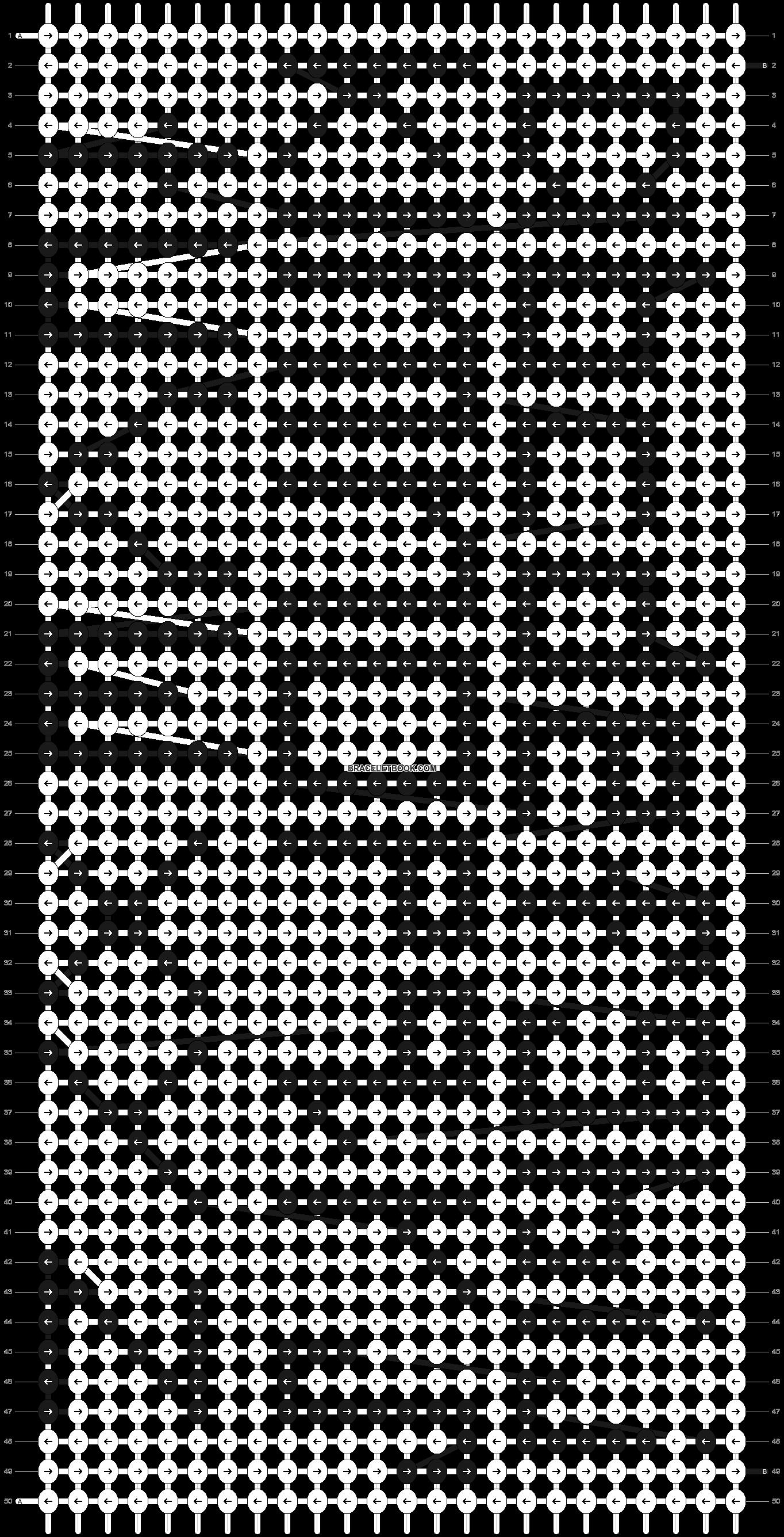 Alpha pattern #914 pattern