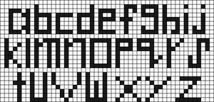 Alpha pattern #914