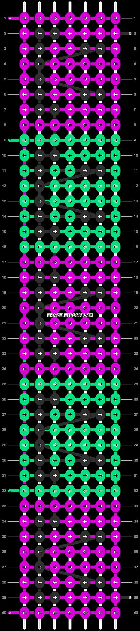 Alpha pattern #932 pattern