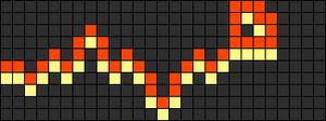 Alpha Friendship Bracelet Pattern #956