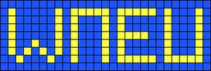 Alpha Friendship Bracelet Pattern #958