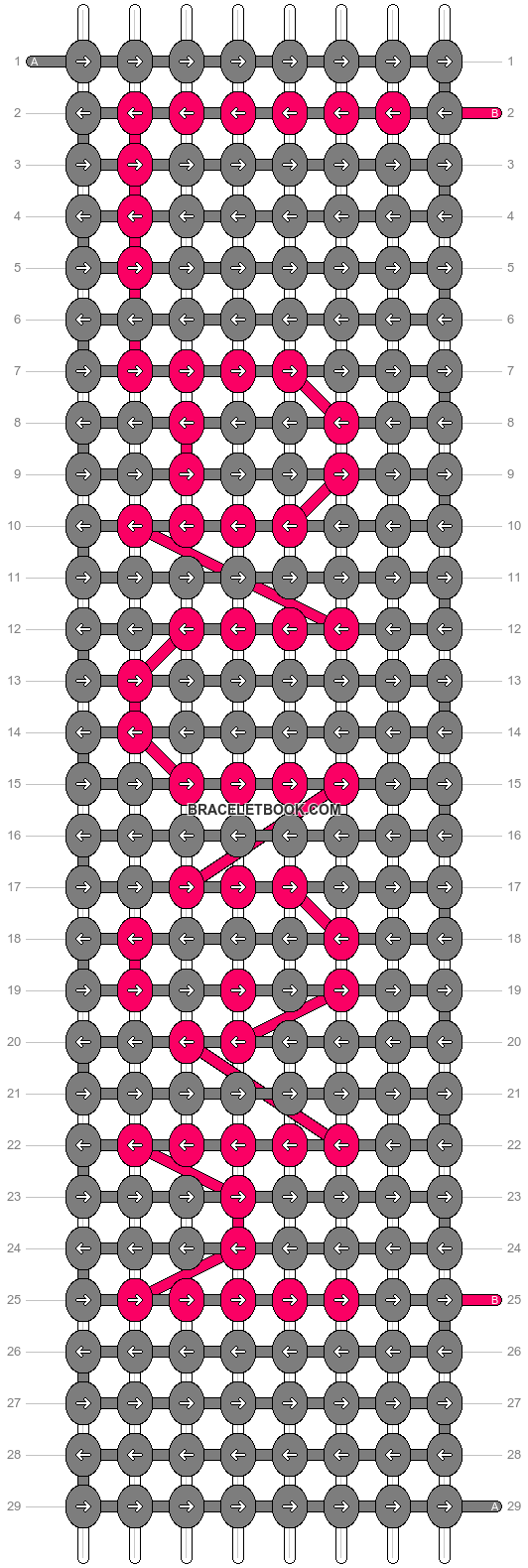 Alpha pattern #960 pattern