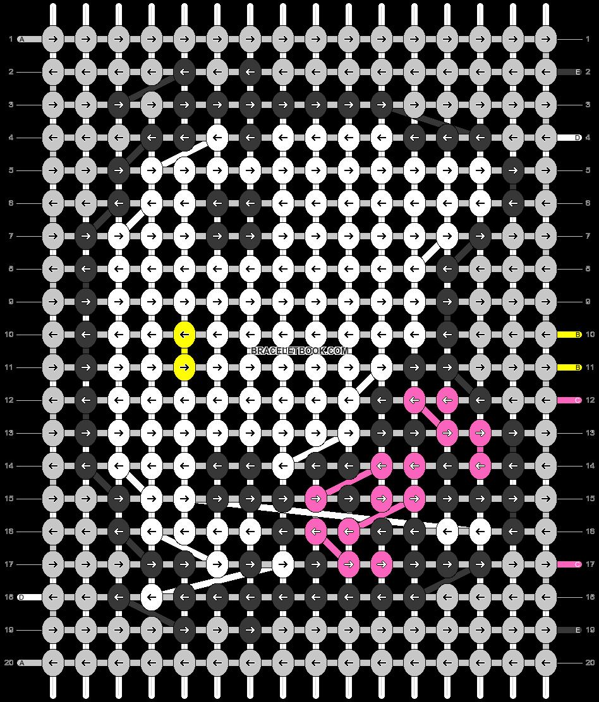 Alpha pattern #965 pattern
