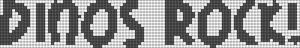 Alpha Friendship Bracelet Pattern #966
