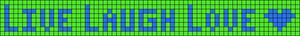 Alpha Friendship Bracelet Pattern #967