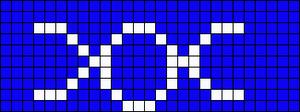 Alpha Friendship Bracelet Pattern #972