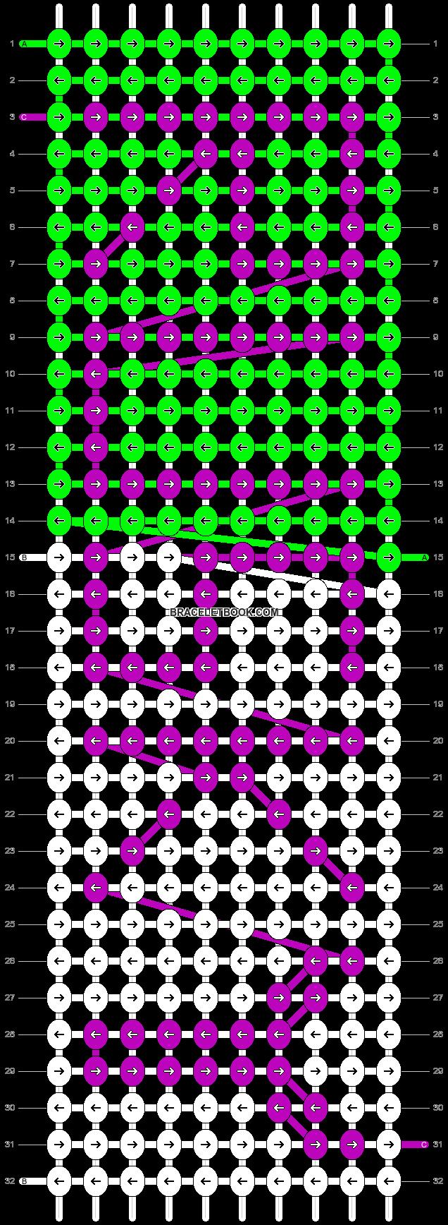 Alpha pattern #988 pattern