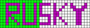 Alpha pattern #988