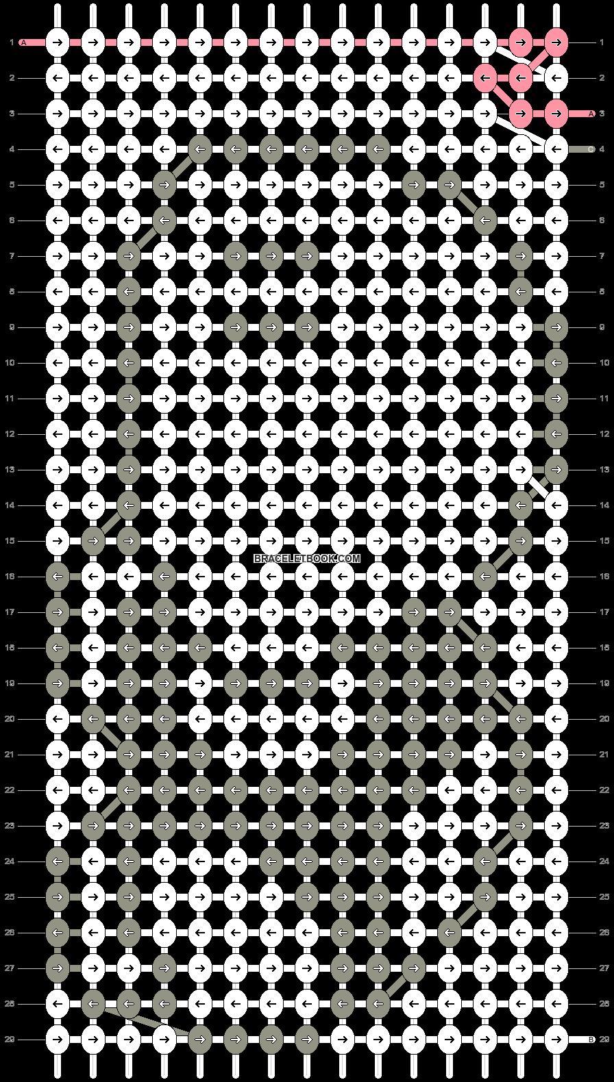 Alpha pattern #990 pattern