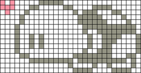 Alpha Friendship Bracelet Pattern #990