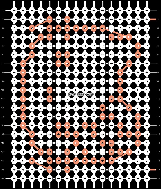 Alpha pattern #994 pattern