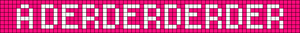 Alpha pattern #996