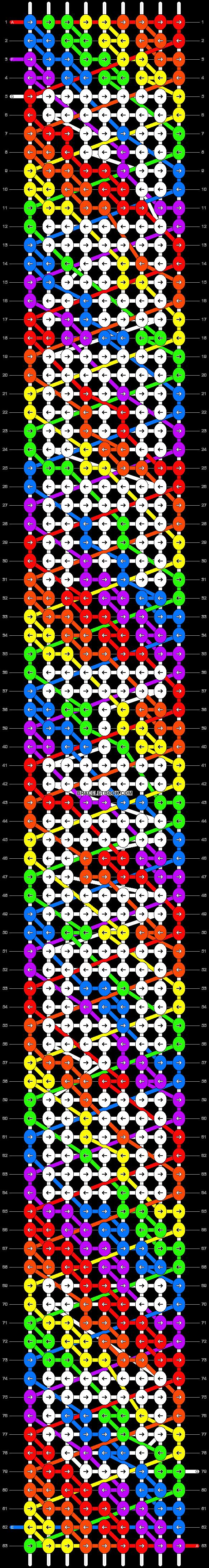 Alpha pattern #998 pattern