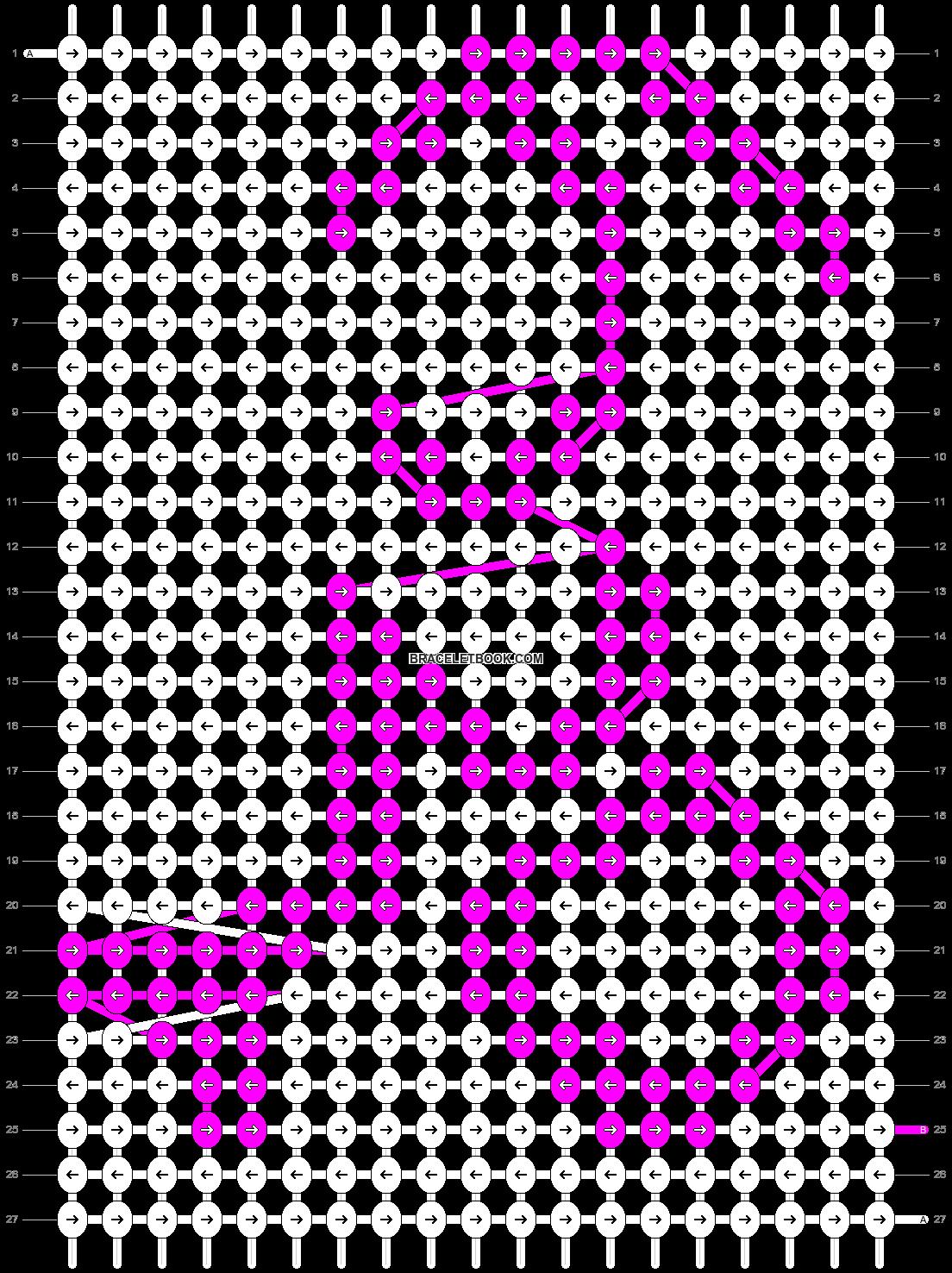 Alpha pattern #1011 pattern