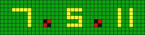 Alpha pattern #1016