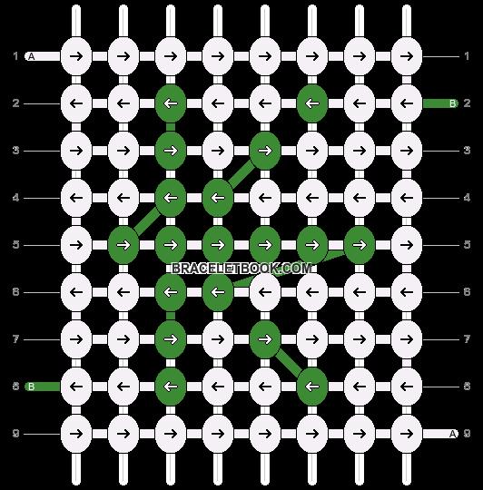 Alpha pattern #1017 pattern
