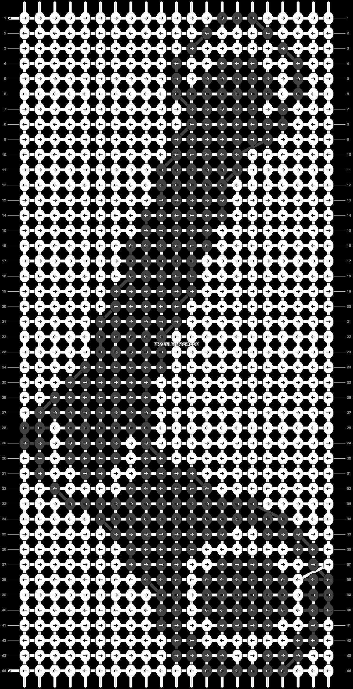 Alpha pattern #1020 pattern