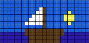 Alpha pattern #1063