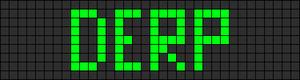Alpha Friendship Bracelet Pattern #1082